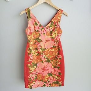 Tracy Feith for Target tropical floral dress XXS